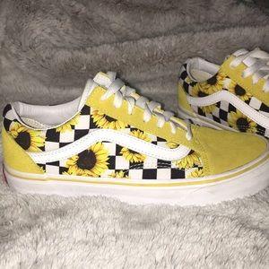 f75706af616d3f Vans Shoes - CUSTOM MADE YELLOW SUNNIE VANS